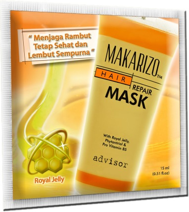 Hair Repair Mask Sachet 15 ml